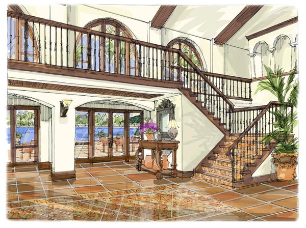 Tags: Architectural , interior rendering , Mixed Media