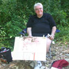 Bill Vann at the 2011 illustration Section Plein Air Paint-Out