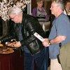 Bill Vann and Bob Shay at Bernie Fuchs Exhibit — O'Fallon, Illinois 3/20/10