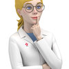 Goldilocks Lab Technician Illustration
